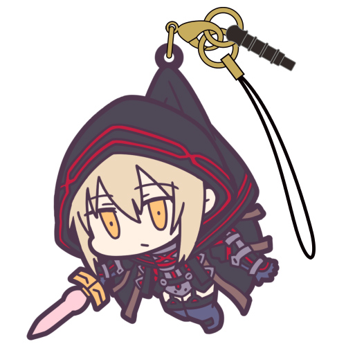 Fate/Fate/Grand Order/バーサーカー:謎のヒロインX[オルタ] つままれストラップ