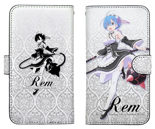 Re:ゼロから始める異世界生活/Re:ゼロから始める異世界生活/レムとモーニングスター 手帳型スマホカバー148