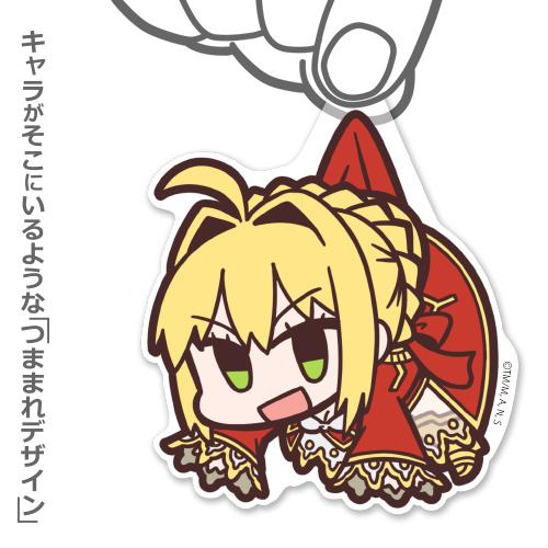 Fate/Fate/EXTRA Last Encore/Fate/EXTRA Last Encore セイバー アクリルつままれストラップ