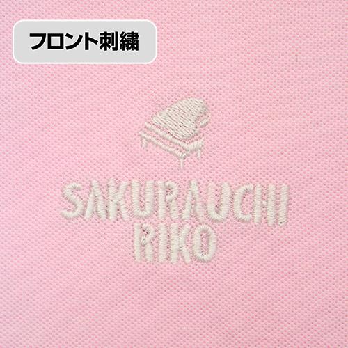 ラブライブ!/ラブライブ!サンシャイン!!/桜内梨子 刺繍ポロシャツ