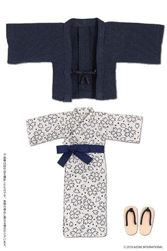 AZONE/ピコニーモコスチューム/PIC200【1/12サイズドール用】1/12 温泉浴衣セット