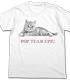 ポプテピピック猫 Tシャツ