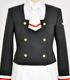 友枝中学校女子制服 冬服ジャケットセット