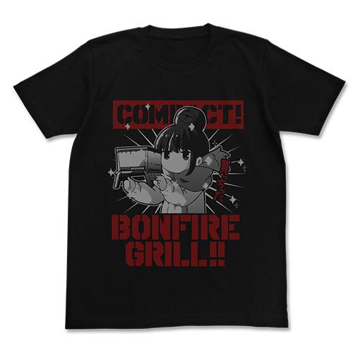 ゆるキャン△/ゆるキャン△/リンの焚き火グリル Tシャツ