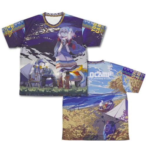 ゆるキャン△/ゆるキャン△/ゆるキャン△ 両面フルグラフィックTシャツ