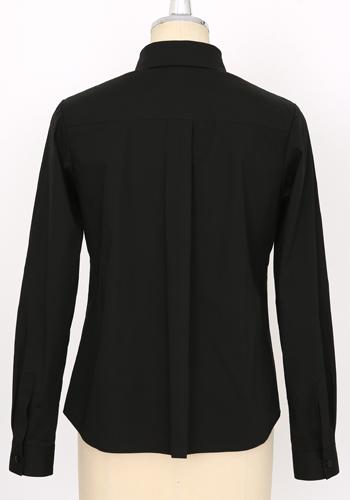 メーカーオリジナル/COSPATIOオリジナル/ベーシックシャツ(ポケットなし)/黒