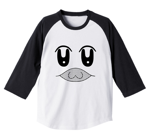 ポプテピピック/ポプテピピック/ボブネミミッミ ラグラン Tシャツ