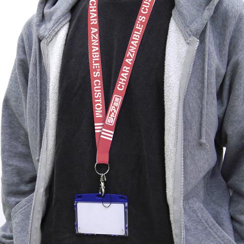 ガンダム/機動戦士ガンダム/シャア専用 ネックストラップ