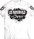 BUSHI×L・I・J「MIST」Tシャツ(ホワイト×ブラック)