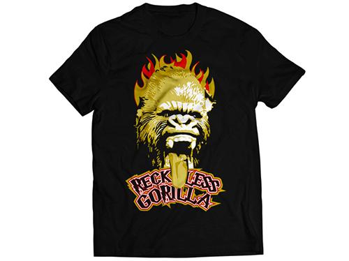 新日本プロレスリング/新日本プロレスリング/真壁刀義「RECKLESS GORILLA」Tシャツ