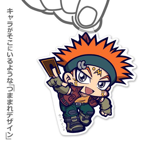 遊☆戯☆王/遊☆戯☆王5D's/クロウ・ホーガン アクリルつままれストラップ