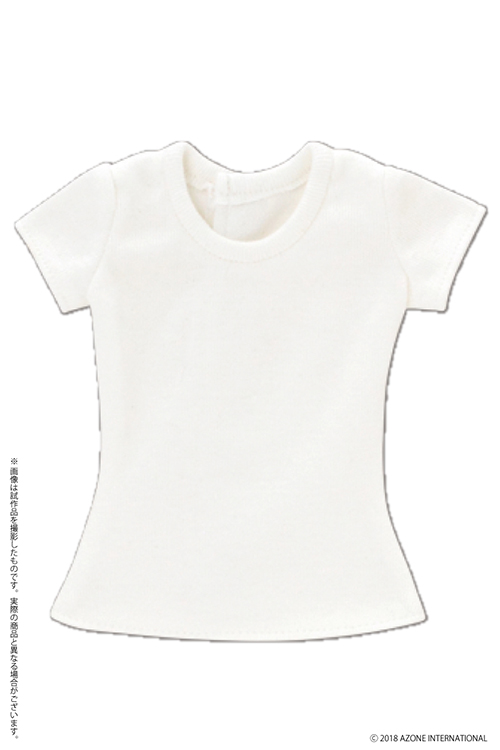 AZONE/50 Collection/FAO094-WHT【48/50cmドール用】AZO2 シンプルTシャツ