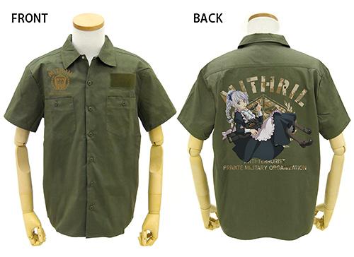 フルメタル・パニック!/フルメタル・パニック!IV/メイドテッサ フルカラーワークシャツ