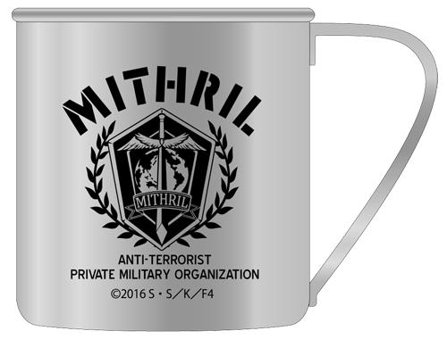フルメタル・パニック!/フルメタル・パニック!IV/対テロ極秘傭兵組織ミスリル ステンレスマグカップ