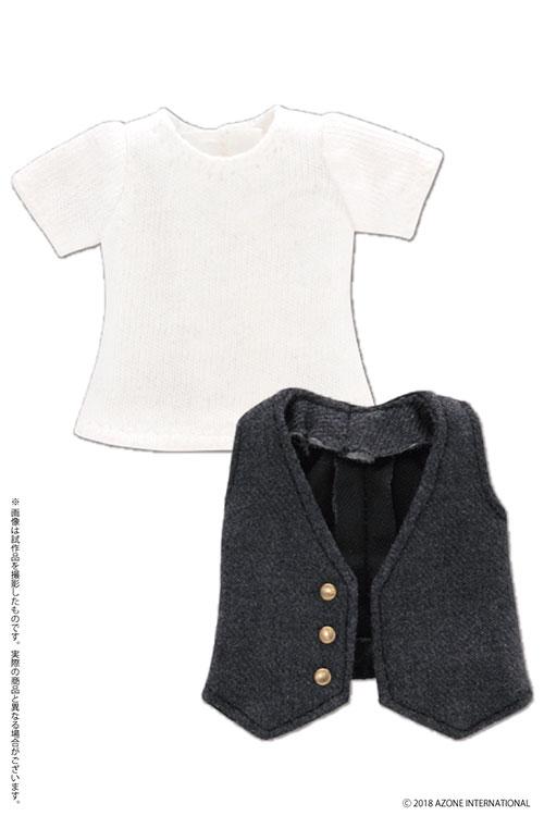 AZONE/ピコニーモコスチューム/PIC206【1/12サイズドール用】1/12 Tシャツ&ジレセット