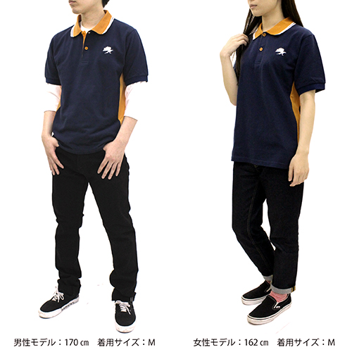 ハイキュー!!/ハイキュー!! 烏野高校 VS 白鳥沢学園高校/烏野高校 デザインポロシャツ