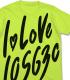 THE IDOLM@STER/アイドルマスターミリオンライブ!/I LOVE 105630 Tシャツ 田中琴葉Ver.