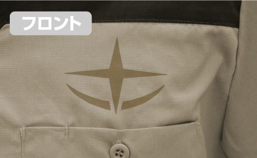 ガンダム/機動戦士ガンダム/連邦兵 デザインワークシャツ