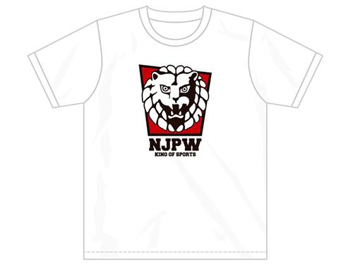 新日本プロレスリング/新日本プロレスリング/ライオンマーク Tシャツ(レッドスクエア)