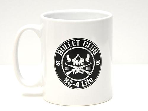 新日本プロレスリング/新日本プロレスリング/マグカップ BULLET CLUB(ホワイト)