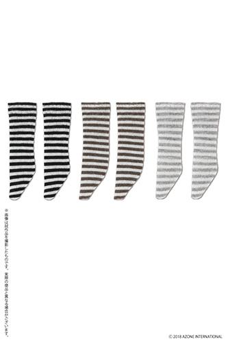 AZONE/ピコニーモコスチューム/PIC217【1/12サイズドール用】1/12 ピコDボーダーソックス