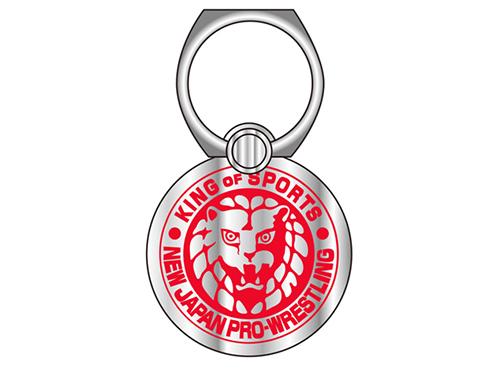 新日本プロレスリング/新日本プロレスリング/ライオンマーク モバイルリングスタンド(レッド)
