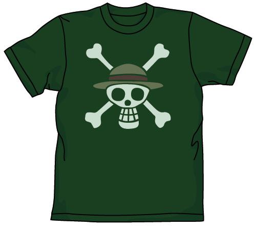 ONE PIECE/ワンピース/海賊旗抜染Tシャツ
