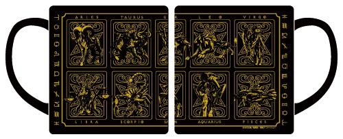 聖闘士星矢/聖闘士星矢/黄金聖衣マグカップ