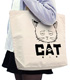 猫になった銀さん ラージトート