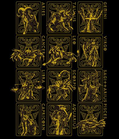 聖闘士星矢/聖闘士星矢/黄金聖衣Tシャツゴールドver.