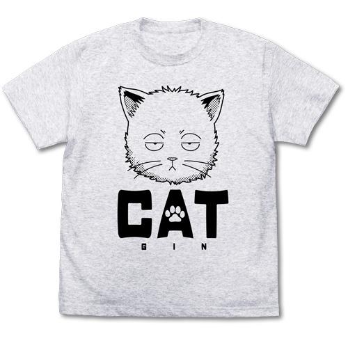 銀魂/銀魂/猫になった銀さん Tシャツ