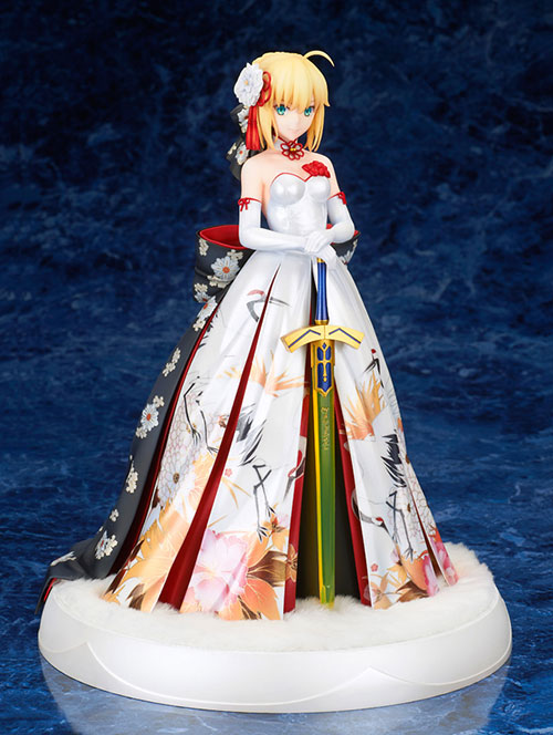 Fate/Fate/stay night/Fate/stay night セイバー 着物ドレスVer. 1/7 スケールPVC製塗装済完成品