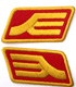 ジオン軍階級章ワッペン