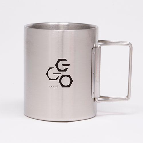 ソードアート・オンライン/ソードアート・オンライン オルタナティブ ガンゲイル・オンライン/SAO オルタナティブ ガンゲイル・オンライン GGO折りたたみステンレスマグカップ