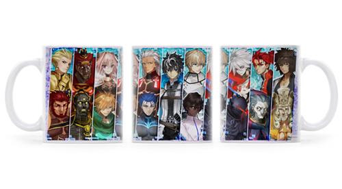 Fate/Fate/EXTELLA LINK/『SE.RA.PH』ボーイズサーヴァントコレクション フルカラーマグカップ