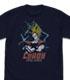 ドラゴンボール/ドラゴンボールZ/悟空の界王拳 ドライTシャツ