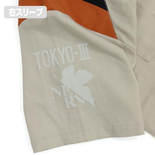 エヴァンゲリオン/EVANGELION/ネルフ制服 デザインワークシャツ