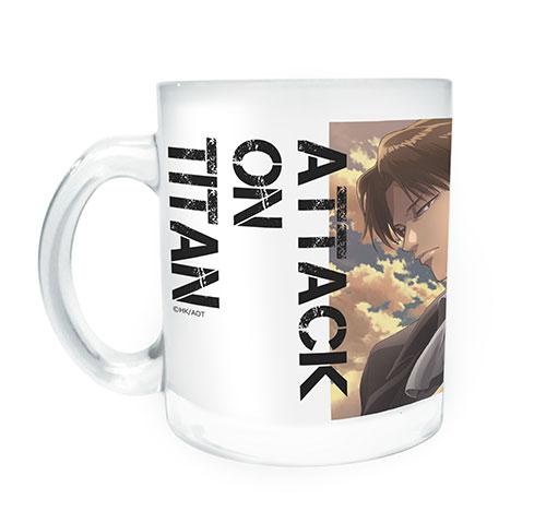 進撃の巨人/進撃の巨人/進撃の巨人 ガラスマグカップ