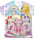 HUGっと!プリキュア フルグラフィックTシャツ