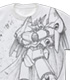 ガンバスターオールプリント Tシャツ