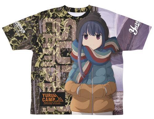 ゆるキャン△/ゆるキャン△/志摩リン 両面フルグラフィックTシャツ