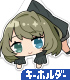 THE IDOLM@STER/アイドルマスター シンデレラガールズ/高垣楓 アクリルつままれキーホルダー