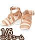 AKT137【1/6サイズドール用】PNM Early summer サンダル