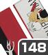 四不象とご主人 手帳型スマホケース148
