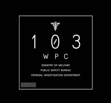 PSYCHO-PASS -サイコパス-/PSYCHO-PASS サイコパス Sinners of the System/公安局イメージ ドライTシャツ