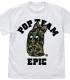 ポプテピピック/ポプテピピック/ポプテピピック フルカラーTシャツ