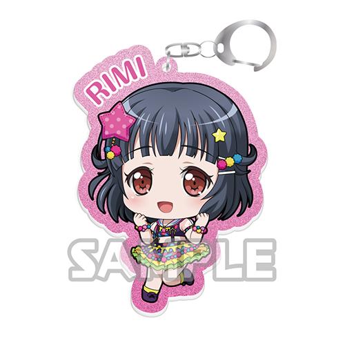 BanG Dream!(バンドリ!)/BanG Dream!(バンドリ!)/バンドリ! ガールズバンドパーティー! キラッとアクリルキーホルダー 牛込りみ(Poppin'Party)