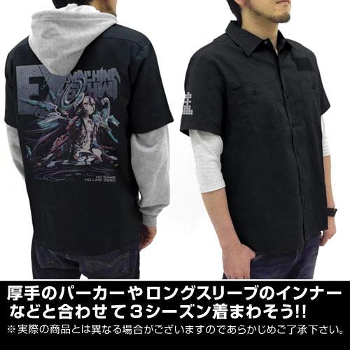 ノーゲーム・ノーライフ/ノーゲーム・ノーライフ ゼロ/シュヴィ フルカラーワークシャツ