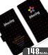 blessing software 手帳型スマホケース148