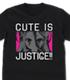かわいいは正義! Tシャツ